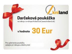 darcekova poukazka noze 30 eur