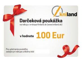 darcekova poukazka noze 100 eur