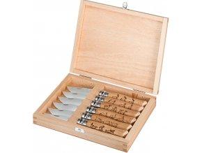 Kolekcia nožov Opinel Inox so zvieracími motívmi (6ks.)